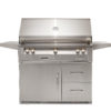 """42"""" Sear Zone Grill on Refrigerated Base - LP"""