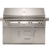 """56"""" Sear Zone Grill on Refrigerated Base with Side Burner - LP"""