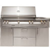 """56"""" Sear Zone Grill with Side Burner Cart - LP"""