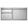 "30""  Twin Eagles 2-Drawer-Door Combo"