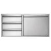 "30""  Twin Eagles 3-Drawer-Door Combo"