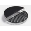 Big Joe® - Half Moon Cast Iron Reversible Griddle